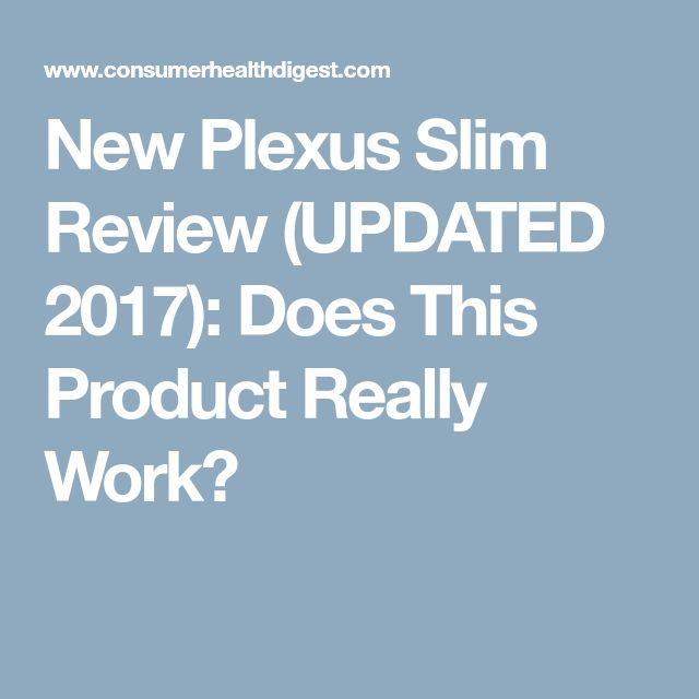 New Plexus Slim Review (UPDATED 2017): Does This Product Really Work?