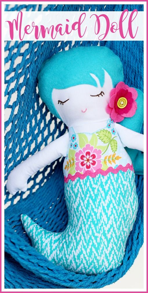 Mermaid Doll A Simple Sewing Project Simple Sewing