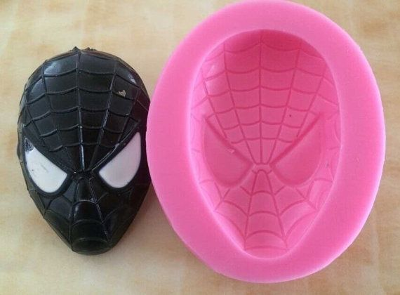 Superhero Silicone Mold SM by ArtsyEdibles on Etsy