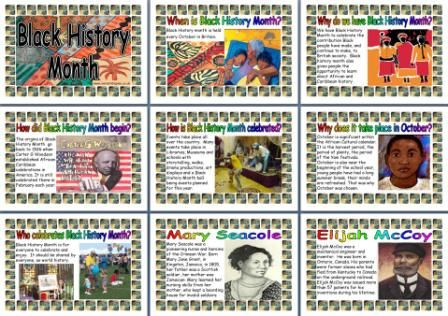 Black History Month in the UK. Free Printable Posters for ...