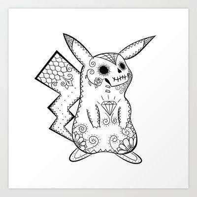 Pikachu de los Muertos | Pokémon & Day of The Dead Mashup #pokemon #pikachu #twitchplayspokemon