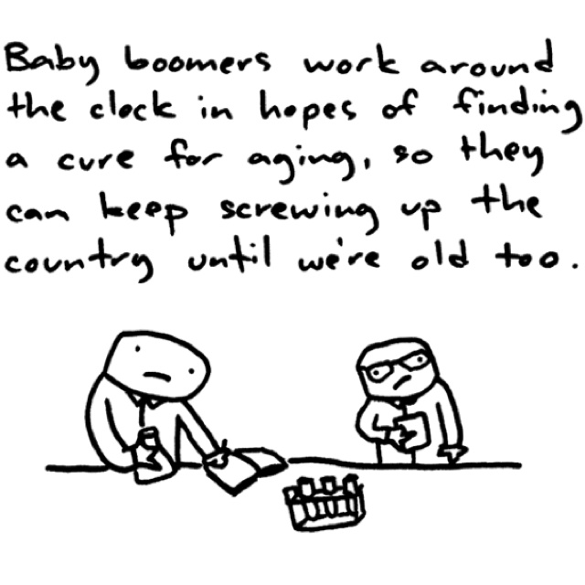 Baby boomers ruined everything.