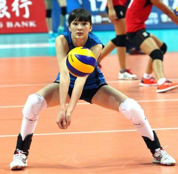 Sabina Altynbekova - the prettiest volleybal player