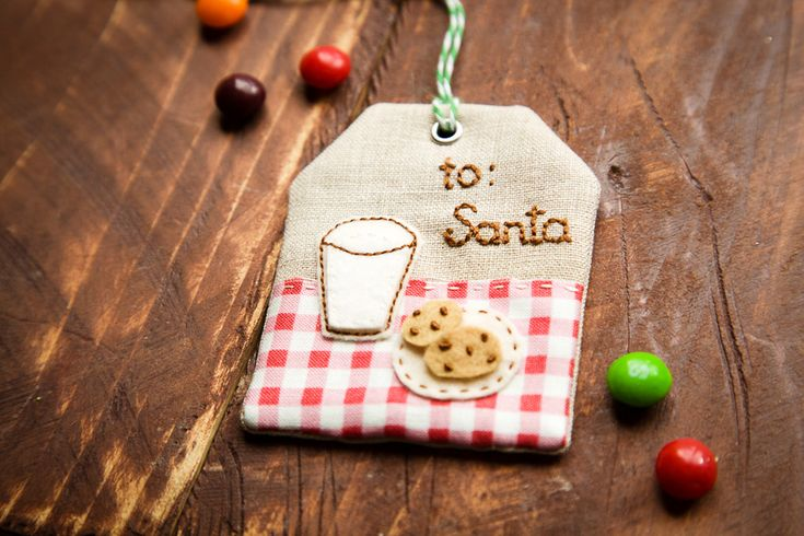 make this cute Christmas tag using these simple instructions