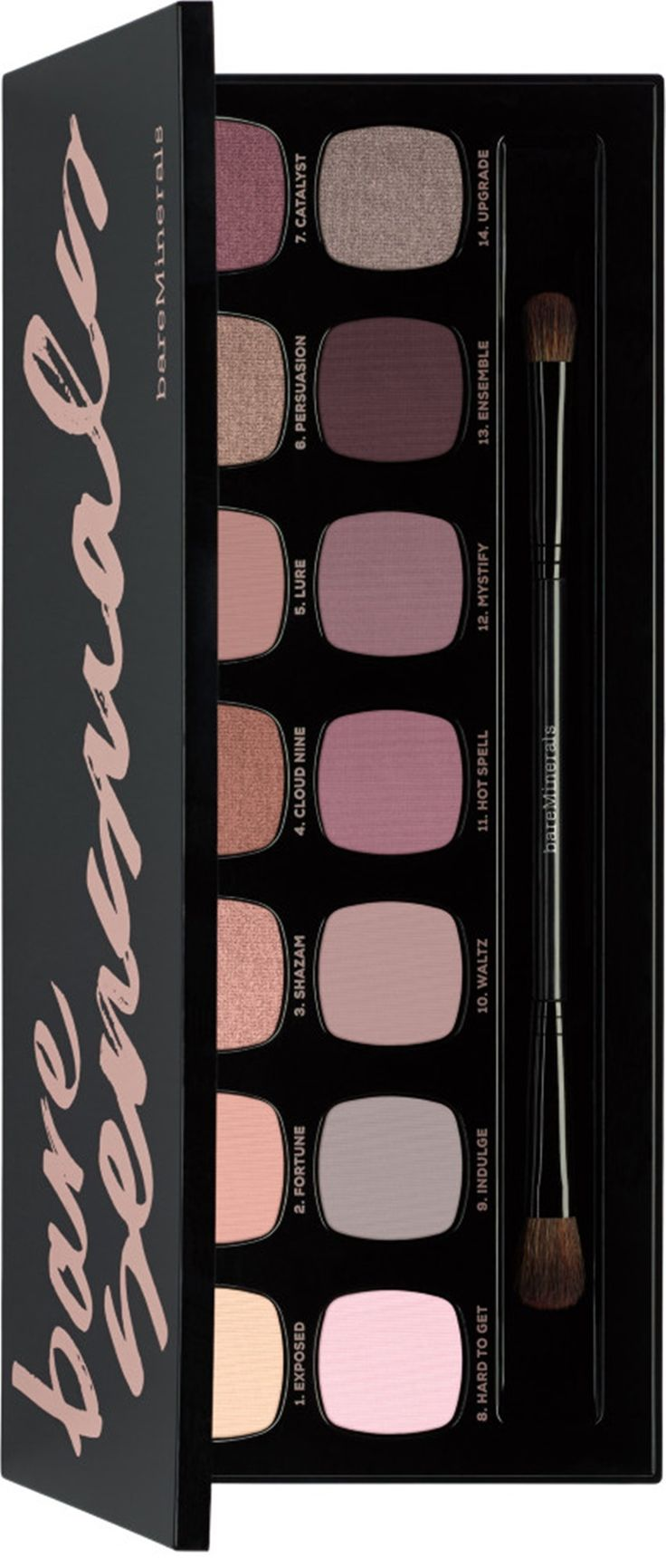 Bare Minerals The Bare Sensuals is a new 14.0 Ready Eyeshadow Palette arriving for Spring 2017 that includes 14 gorgeous shades of Bare Minerals Ready Eyes