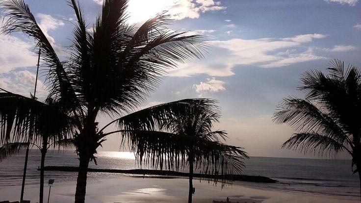 In kuta beach