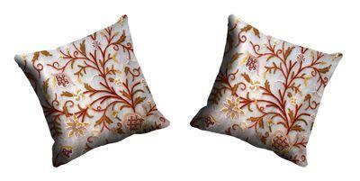 Me Sleep Chain Stitch Cushion Cover Cdek 10 2 Cream Cushion Covers on Shimply.com