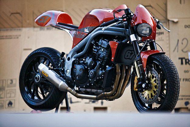 Triumph Triple Speed by Olivi Motori Weslake