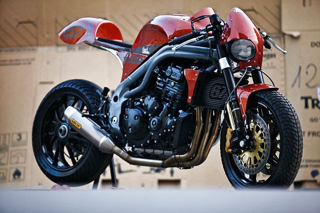 Triumph Triple Speed by Olivi Motori Weslake