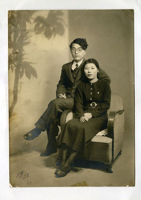 Joseph Lee (Lee Hae Nam) and 서복경, circa 1934  Mr. Lee Hae Nam and Ms. Seo, my wife's grandparents. —Michael Sean Gallagher