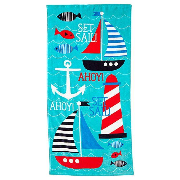 Sailor Beach Towel