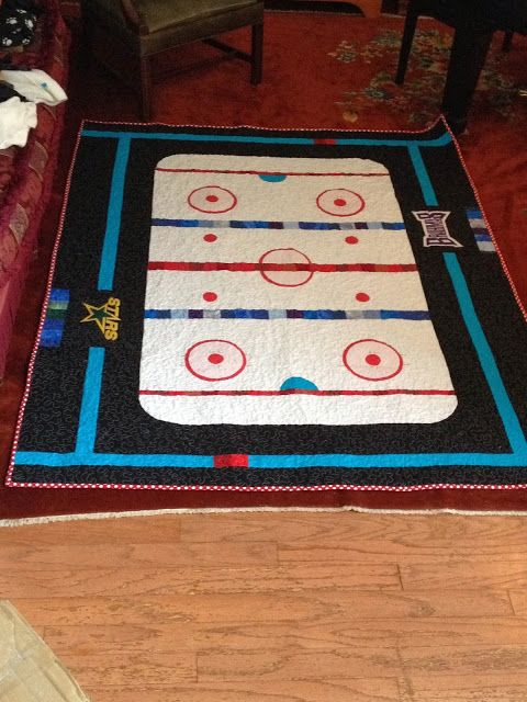 26 Best Ideas About Hockey Quilts On Pinterest Crafting