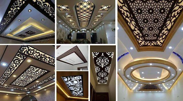 Cnc False Ceiling Designs Ideas In 2019 Ceiling Design