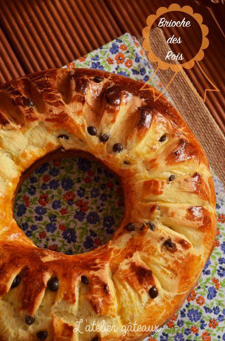 """Brioche des Rois de """"L'atelier gâteaux"""""""
