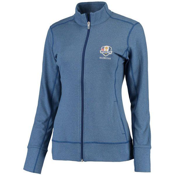 Cutter & Buck Women's 2016 Ryder Cup Topspin DryTec Full-Zip Jacket - Blue - $74.99