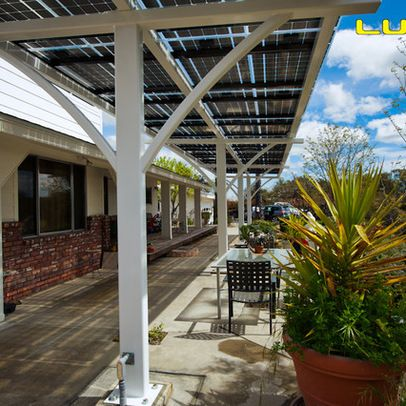 Lumos Lsx Solar Patio Covers Awnings Contemporary