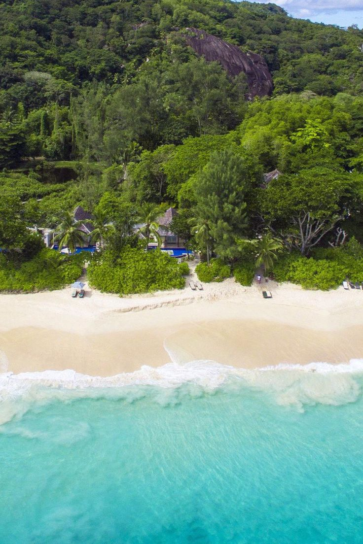 What's a beach vacation without silky white sands? Banyan Tree Seychelles (Victoria, Seychelles) - Jetsetter