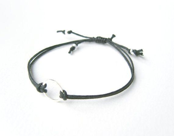 Black Eternity Bracelet