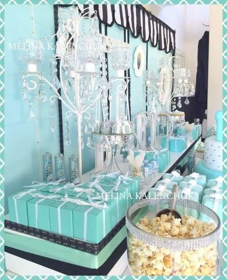 tiffany-baby-shower favor boxes