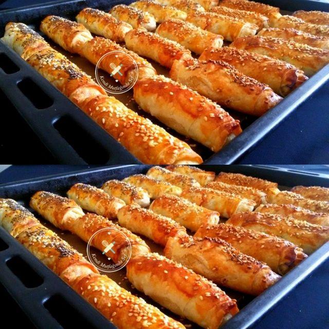 Sodalı Patatesli Sigara Böreği Nasıl Hazırlanır, Sodalı sigara böreği tarifi için buraya tıklayın. Kalem böreği tarifi.