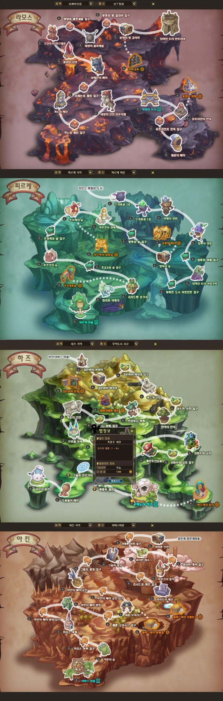 heva clonia world map