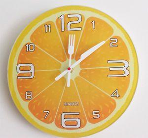 17 mejores ideas sobre paredes de la cocina naranja en - Relojes de pared cocina ...