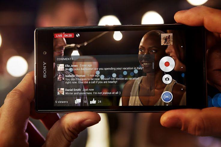 Xperia Z1 Social Live
