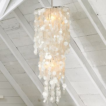 capiz shell chandeliers | ... beautiful capiz shell chandeliers in all the magazines and catalogues                                                                                                                                                                                 More