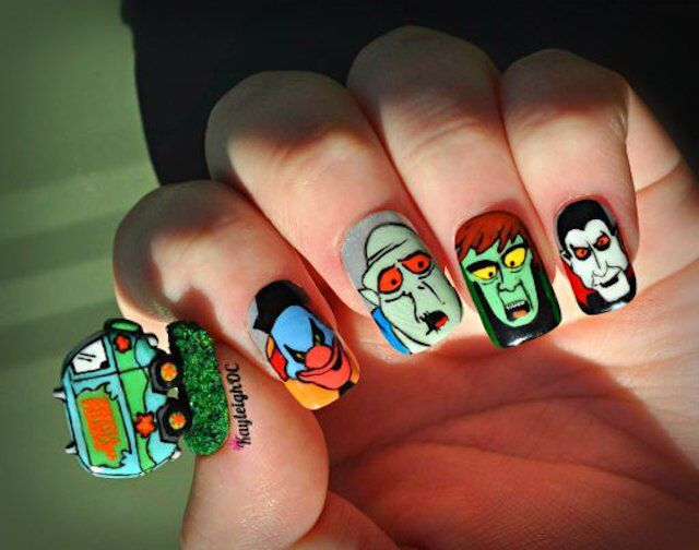 218 best nail art images on pinterest nail art nail decorations crazy impressive nail art inspired by south park pokmon and prinsesfo Image collections