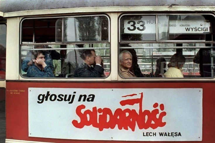 Warsaw, 1989 'Vote for Solidarity'
