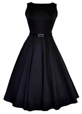 The Black Hepburn Dress