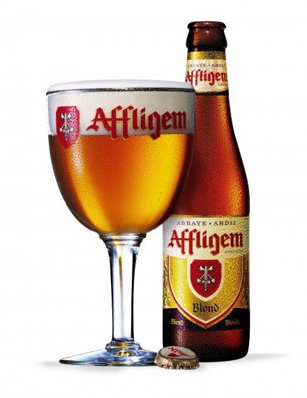 Affligem Blond is a Belgian Abbey ale with a light hoppy taste, an elegant bitterness and slightly bitter aroma.  Affligem Blond pours a pale gold colour and has a complex nose of dried fruit, malt and spices with a balanced palate of dried fruit flavours.  Affligem Blond is an unpasteurized, all natural beer free of additives and preservatives. http://www.affligembeer.com/global/