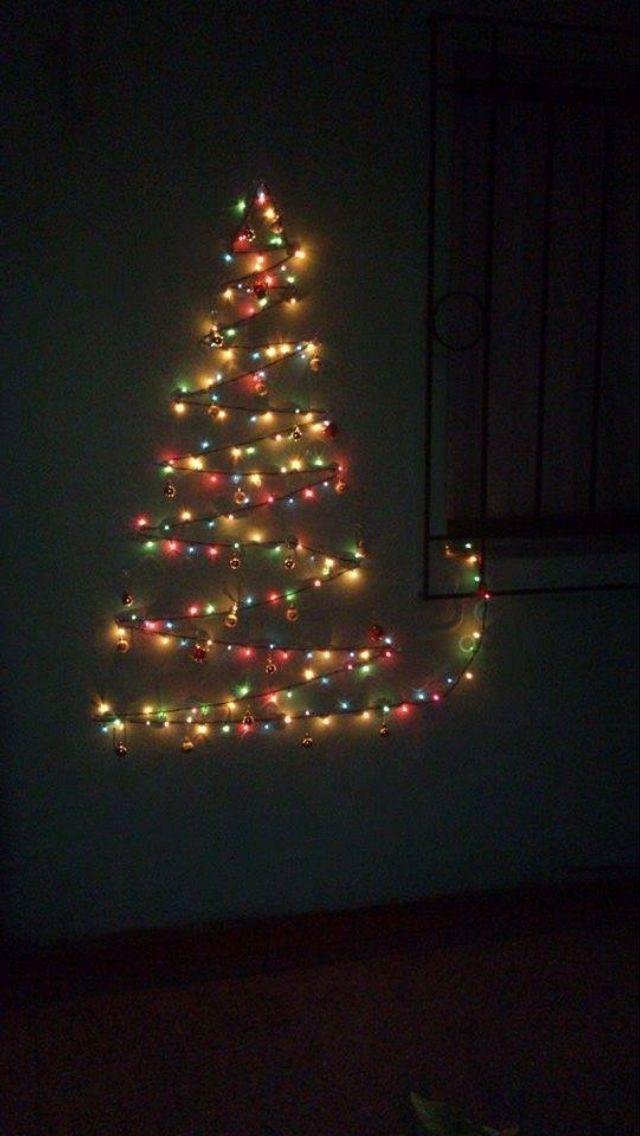 Arbol navidad luces