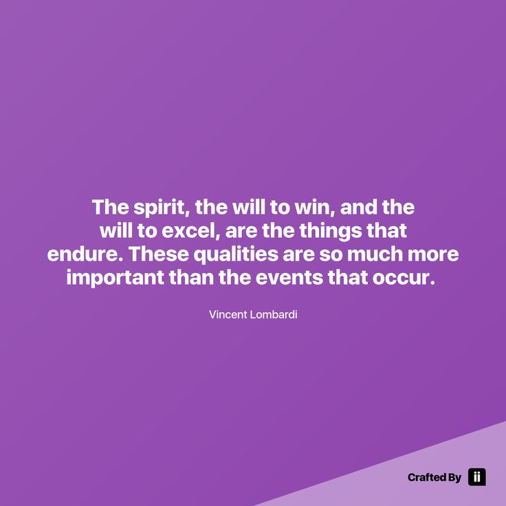 """The spirit the will to win and the will to excel are the things that endure. These qualities are so much more important than the events that occur. "" By Vincent Lombardi #quotes #wordstoliveby #inspiration #inspirationalquote #motivation #quotestagram #quotesoftheday #beautiful"