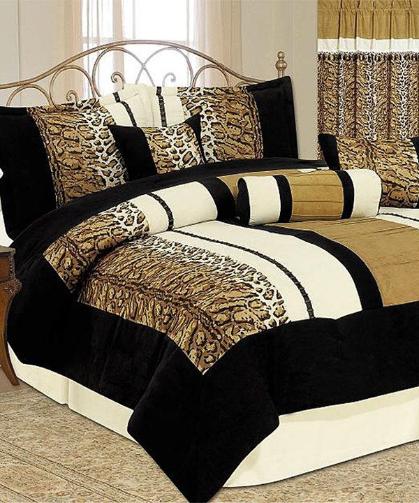 Another great find on #zulily! Animal Print Luxury Comforter Set by Maison  Lux # - 28 Best Bedding Images On Pinterest Animal Prints, Animal Print