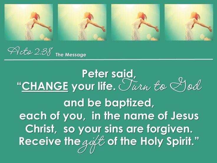 Flourishing Life 4 Acts 2:38