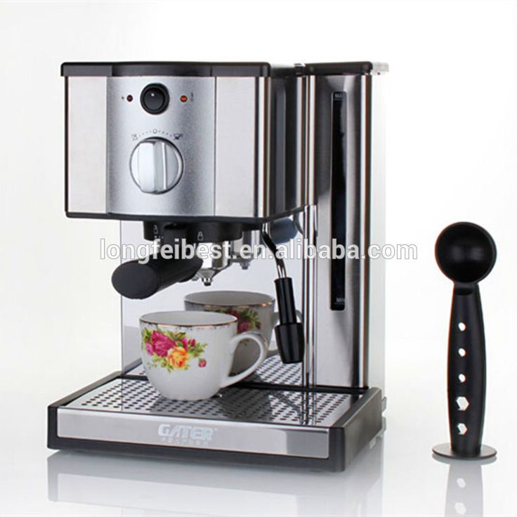High Quality Semi-Automatic Espresso Coffee Machine with Milk Frother, Coffee Maker
