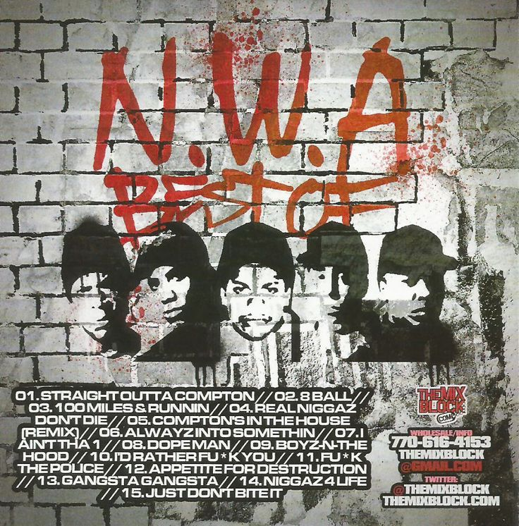 N.W.A - The Best Of: Mixtape CD