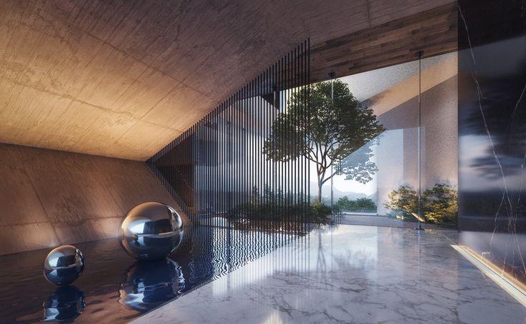 #architecture #contemporary #luxury #modern #dubai #emirates #design #creato #villa #home #interior   contacto@creatoarquitectos.com