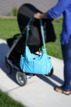 Our Turquoise Dream Nappy Bag with lots of storage and pockets.