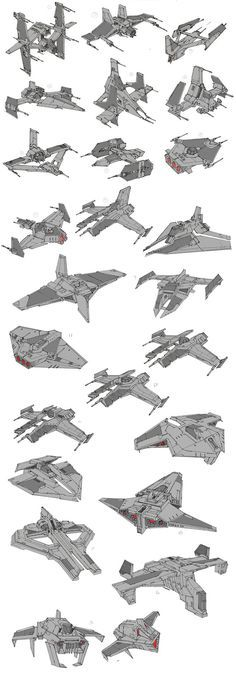 My work for a player ship for Star Wars The Old Republic expansion-Galactic Starfighter. This was intended to be a medium fighter, a balance between weaponry and maneuverability.
