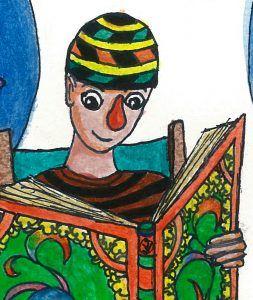 'Zappie is op vakantie. Hij zit op een strandstoel en leest een boek over het leven onder water.'  Dit is het begin van een avontuur waarin Clown Zappie verliefd wordt op een echte zeemeermin. Een verhaal met vlinders in je buik, een clownvis, een schildpad en een gevaarlijke haai. Gaat Clown Zappie de zeemeermin vinden in de grote zee? Lees het in dit nieuwe avontuur van Clown Zappie.