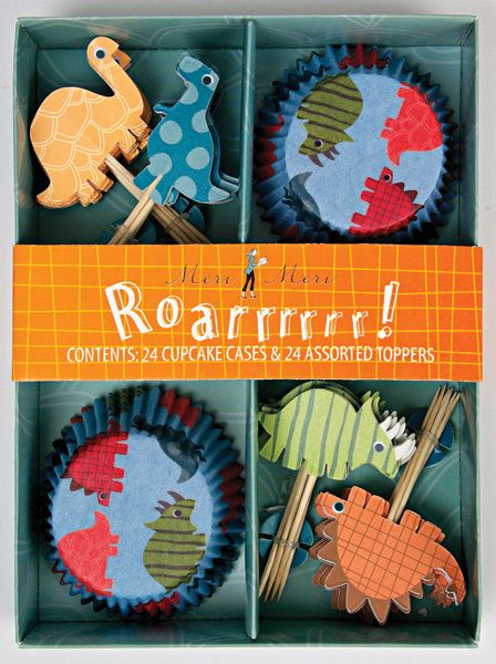 Meri Meri - Cupcake Set Dinosaurier bei www.party-princess.de