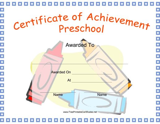 25 best Certificates images on Pinterest Award certificates, Boy - free certificate of achievement