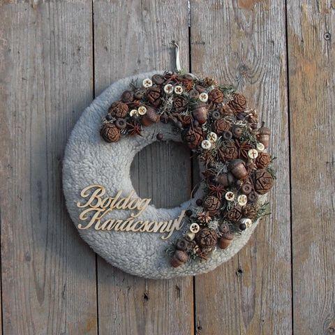 Vadász - karácsonyi ajtódísz, Otthon, lakberendezés, Dekoráció, Karácsonyi, adventi apróságok, Ünnepi dekoráció, Meska