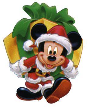 Disney Christmas Mickey Mouse Clipart --> Disney-Clipart.com