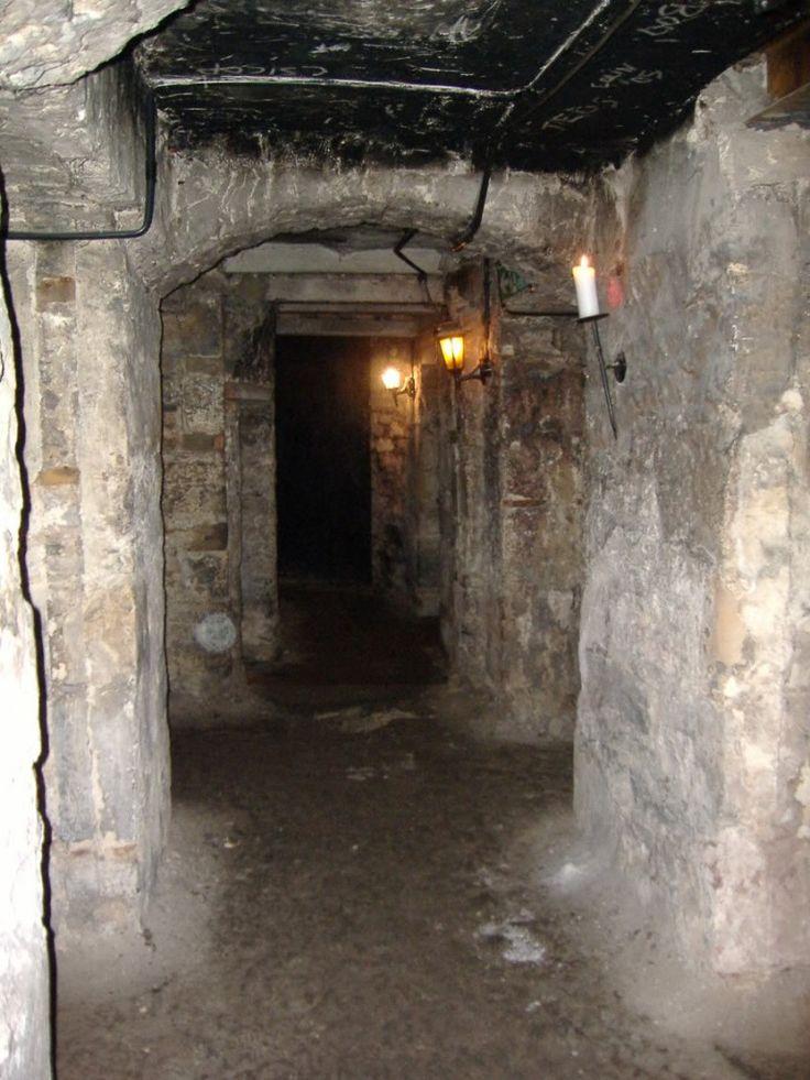 Ancient underground tunnels edinburgh scotland melinda