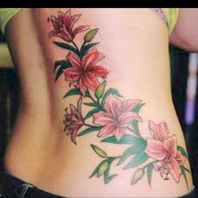 Lilies    Month of May flowerMonth Of May Flower Tattoos