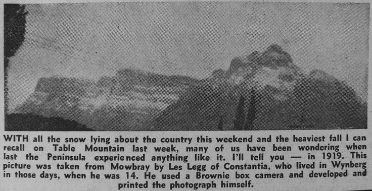 1919 Table Mountain courtesy of Des Head
