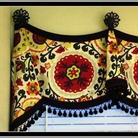 eclectic window treatments by Berryhill Drapery LLC